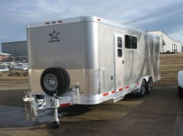 Bumper Pull Automotive All Aluminum Enclosed Trailers - BPA 52A