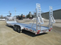 Gooseneck Low Profile Heavy Equipment Flatbed Trailers - GNLPF 23B