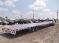 All Aluminum Gooseneck Flatbed Hotshot Trailers -  GNF 98A