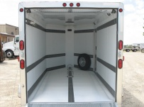 Bumper Pull Automotive All Aluminum Enclosed Trailers - BPA 29