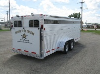 Showmaster Low Profile Small Livestock Trailers - BPLP4V 27A