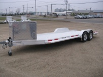 Bumper Pull Open Automotive Aluminum Trailers - BPOC 18B