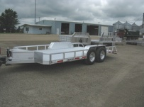 Open Utility Heavy Duty Utility Trailers - BPU 33A