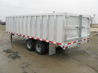 Bumper Pull Heavy Equipment Flatbed Trailers - BPF 14