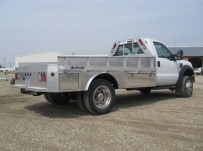 Popular Models Aluminum Truck Beds - PTB 124