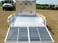 Open Utility Heavy Duty Utility Trailers - BPUC 21