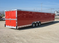 Gooseneck Automotive All Aluminum Enclosed Trailers - GNA 21B