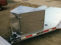 Bumper Pull Open Automotive Aluminum Trailers - BPOC 7