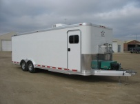 Bumper Pull Enclosed Cargo Trailers - BPDF 26