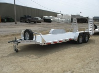 Bumper Pull Heavy Equipment Skid Loader Trailer - SKL 12