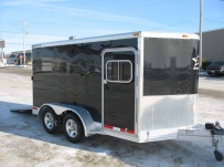 Bumper Pull Automotive All Aluminum Enclosed Trailers - BPA 19A