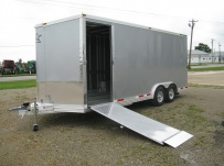 Bumper Pull Automotive All Aluminum Enclosed Trailers - BPA 44B