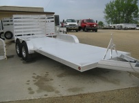 Open Utility Heavy Duty Utility Trailers - BPU 39A