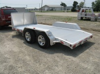 Bumper Pull Open Automotive Aluminum Trailers - BPOC 21