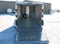 Enclosed Snowmobile/Motorcycle Toy Haulers - BPA 46D