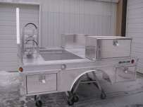 Specialized Aluminum Truck Beds - STB 109B