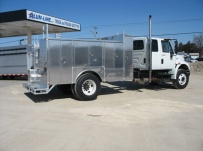 Open Middle Service Truck Bodies - SBO 34F