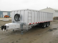 Bumper Pull Heavy Equipment Flatbed Trailers - BPF 15