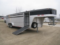 Commercial Gooseneck Livestock Trailers - GNL 56A