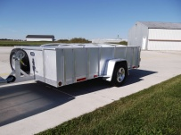 Open Utility Heavy Duty Utility Trailers - BPU 46A