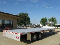 Gooseneck Heavy Equipment Flatbed Trailers - GNF 68C