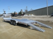 Gooseneck Low Profile Heavy Equipment Flatbed Trailers - GNLPF 23A