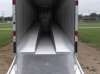 Gooseneck Automotive All Aluminum Enclosed Trailers - GNA 31C