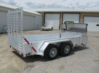 Open Utility Heavy Duty Utility Trailers - BPU 40