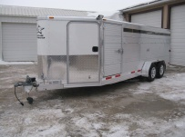 Showmaster Low Profile Small Livestock Trailers - BPLP4V 29A