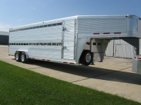 Commercial Double Deck Livestock Trailers - GNDD 41A