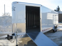Bumper Pull Automotive All Aluminum Enclosed Trailers - BPA 35