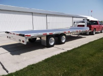 Gooseneck Heavy Equipment Flatbed Trailers - GNF 76