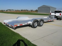 Bumper Pull Open Automotive Aluminum Trailers - BPOC 22A