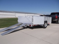 Open Utility Heavy Duty Utility Trailers - BPU 46C