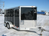 Bumper Pull Automotive All Aluminum Enclosed Trailers - BPA 46B