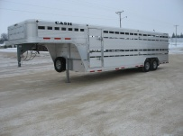 Commercial Double Deck Livestock Trailers - GNDD 39A