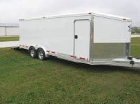 Bumper Pull Automotive All Aluminum Enclosed Trailers - BPA 37A