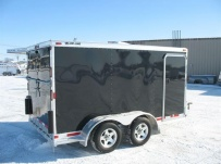 Bumper Pull Automotive All Aluminum Enclosed Trailers - BPA 46C