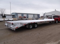 Gooseneck Heavy Equipment Flatbed Trailers - GNF 81