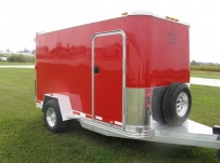 Bumper Pull Enclosed Cargo Trailers - BPDF 33A