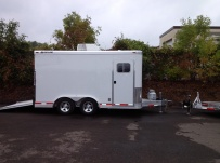 Bumper Pull Enclosed Cargo Trailers - BPDF 63