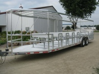 Open Utility Heavy Duty Utility Trailers - BPUC 17
