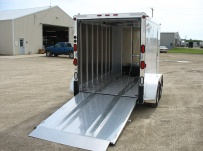 Enclosed Snowmobile/Motorcycle Toy Haulers - BPA 47B