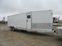Bumper Pull Automotive All Aluminum Enclosed Trailers - BPA 36A
