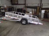 Open Utility Heavy Duty Utility Trailers - BPU 47