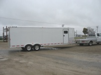 Bumper Pull Automotive All Aluminum Enclosed Trailers - BPA 36B