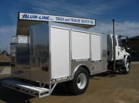 Open Middle Service Truck Bodies - SBO 34D