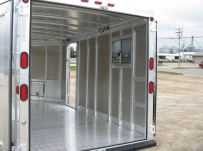 Bumper Pull Enclosed Cargo Trailers - BPDF 49B