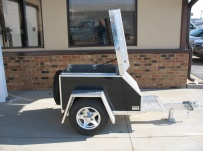 Enclosed Motorcycle Trailer Pull Behind Tote - CYCLE 1D