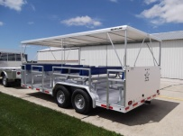 Open Utility Heavy Duty Utility Trailers - BPUC 15